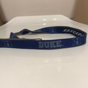 🌷NEW🌷 Vintage Duke University Lanyard Keychain